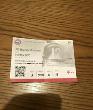 Sammler Ticket FC Bayern München - Hertha BSC Berlin (23.02.2019)