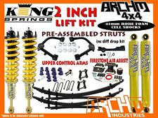 HOLDEN COLORADO RG (2012-ON) ARCHM4X4 ULTIMATE LIFT KIT WITH UCA+AIR ASSIST+DD