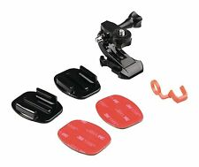 Helmet Mount Kit for Action Camera (includes extra sticker set)