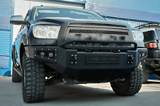 Front Steel Grille Black Polymer Fit For Toyota Tundra 2010-2013 With Lettering