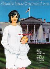 Vintage Uncut 1960's Jackie & Caroline (Kennedy) Paper Dolls~#1 Reproduction