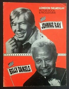 London Palladium Picture Book Programme Johnnie Ray Billy Daniels Ink Spots 50's