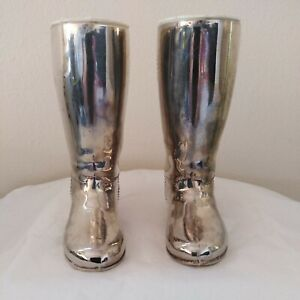 Silver Plated Drink Measures Riding Boots