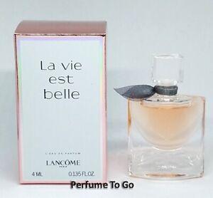 LANCOME La Vie Est Belle * 0.135oz (4.0ml) EDP Splash * Mini Sample * NEW in BOX