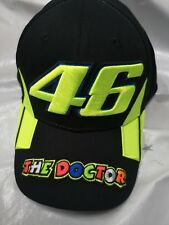 VALENTINO ROSSI VR46 BASEBALL RACE BLACK  ADULT OFFICIAL 2019 THE DOCTOR