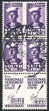 South Africa 1942-4 2d violet, APOSTROPHE VARIETY, SG.100c, used, cat.£80