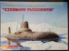 Kartonmodellbau sowjetisches U-Boot Typhoon-Class