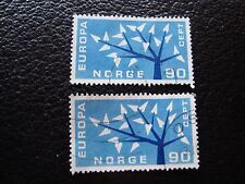 NORVEGE - timbre yvert et tellier n° 434 x2 obl (A30) stamp norway