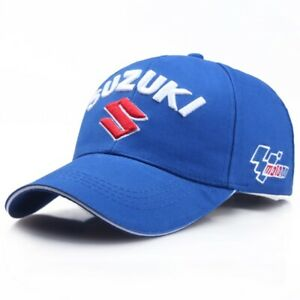Suzuki Baseball Cap Hat Motorsport Racing Cotton UK Blue NEW UK Stock