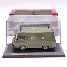 IST 1:43 Barkas B1000 SMH3 NVA 1985 IST170T Green Ambulance Diecast Models Car