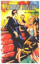 LESBIAN JUNGLE Movie POSTER 11x17 Retro Book Cover