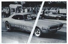 "1960s Drag Racing-""BRUTUS"" vs Arnie ""Farmer"" Beswick-Cecil County Drag-O-Way"