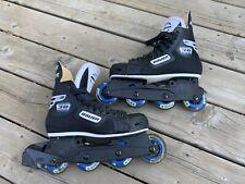 Bauer Pro Impact Roller Hockey Skates Blades Off Ice Hockey - Size 7