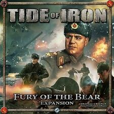 NEW SEALED - TIDE OF IRON FURY OF THE BEAR Expansion Board Game Tanks/Miniatures