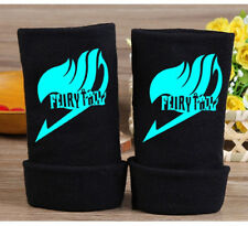 Anime Fairy Tail Guild Cosplay Gloves Fingerless Mittens Gloves #4