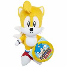 """Sonic the Hedgehog ~ 7"""" TAILS PLUSH FIGURE ~ Official JAKKS Pacific Plushie"""