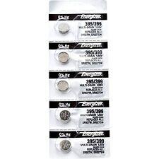 5Pcs Energizer 395 399 (SR927SW) (SR927W) Silver Oxide Watch Batteries