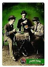 Jameson Tin Sign Irish Whiskey Dublin Ireland Cork Pub Bar Poker Table Chip