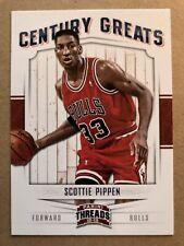 2012-13 Panini Threads Century Greats #12 Scottie Pippen Bulls Basketball Card