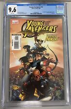 YOUNG AVENGERS 12 CGC 9.6 1st APP TOMMY SHEPARD AS SPEED NEW AVENGERS LAST ISSUE