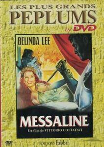DVD MESSALINE LES PLUS GRANDS PEPLUMS