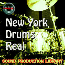 NEW YORK DRUMS REAL - Huge Perfect Samples/Groove Library on DVD