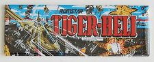 Tiger Heli Marquee FRIDGE MAGNET (1.5 x 4.5 inches) arcade video game helicopter
