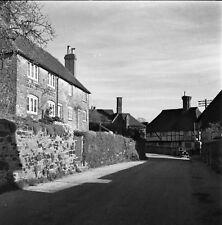 B/W 6x6 Negative Byworth West Sussex Village Scene 1951 + Copyright Z120