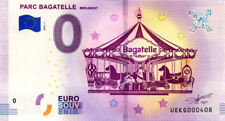 62 MERLIMONT Parc Bagatelle, N° de la 5ème liasse, 2018, Billet 0 € Souvenir