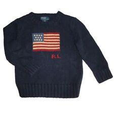 Ralph Lauren Jungen-Pullover aus 100% Baumwolle