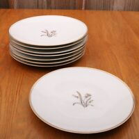 8 Noritake China Lynne Luncheon Plates 5523