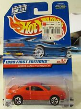 Hot Wheels Monte Carlo Concept Car 1999 First Editions #6 Red