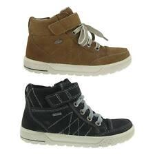 Breite Stiefel & Boots für Jungen aus Leder mit Schnürsenkeln