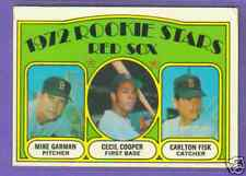 1972 TOPPS 79 CARLTON FISK RED SOX ROOKIE EX-MT+ PSA 6?