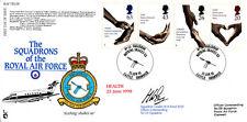 RAF FDC 58 squadroni delle RAF completa serie di francobolli salute FDC
