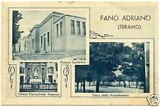 FANO ADRIANO - VEDUTINE (TERAMO) 1940