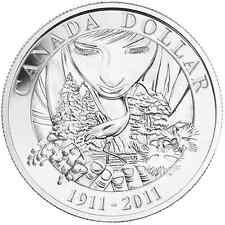 Canada 2011 Parks Canada Centennial Anniversary $1 Silver BU Coin Perfect
