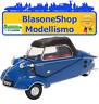 Messerschmitt KR200 1:18 Modellino Oxford Diecast Cabrio Blu