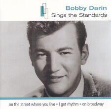 Bobby Darin OOP OZ CD Sings the standards NM 2001 EMI 22 Trks Pop Rock