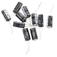 5X(SODIAL (R) 10 x 470uF 50V 105癈 Radial Elektrolyt Kondensator 10 x 20 mm M8S3