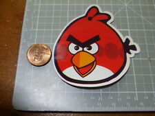 GLOSSY RED ANGRY BIRD Sticker/ Decal Stickers Actual Pattern NEW