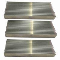 3 Pcs en Aluminium Amplificateur de Puissance Dissipateur Thermique Dissipa V8Y7