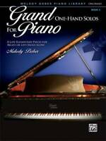 Grand One-Hand Solos for Piano, Bk 3: 8 Late Elementary Pieces for Right  - GOOD