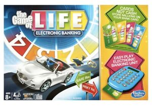 The Game Of Life With Electronic Banking Hasbro Gaming NEW SEALED