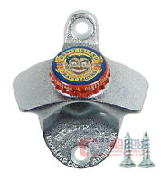 CONEY ISLAND LAGER Beer Opener BOTTLE CAP Starr X Wall Mounted Sturdy Cast Iron
