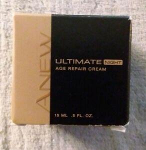 "New Avon Anew Ultimate Age Repair Cream Night. .50 Oz & a ""Free Avon gift inc."""