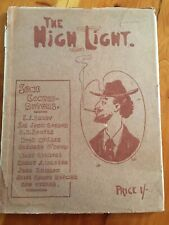 The High Light. A Souvenir Volume by the Adelaide Drawing and Sketch Club OLD