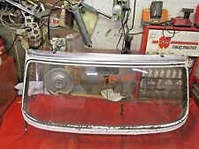 Triumph TR4 Original Windshield Frame & Glass, Early Style, !!