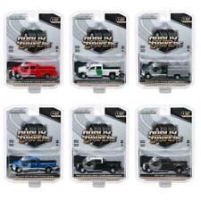 """Dually Drivers"" Series 3, Set Of 6 Trucks 1/64 Diecast Cars By Greenlight 46030"