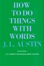 The William James Lectures: How to Do Things with Words 5 by J. L. Austin (1975,